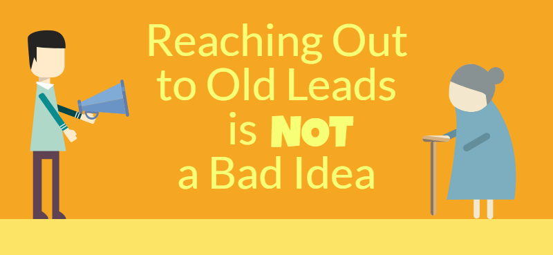 re-engage old leads