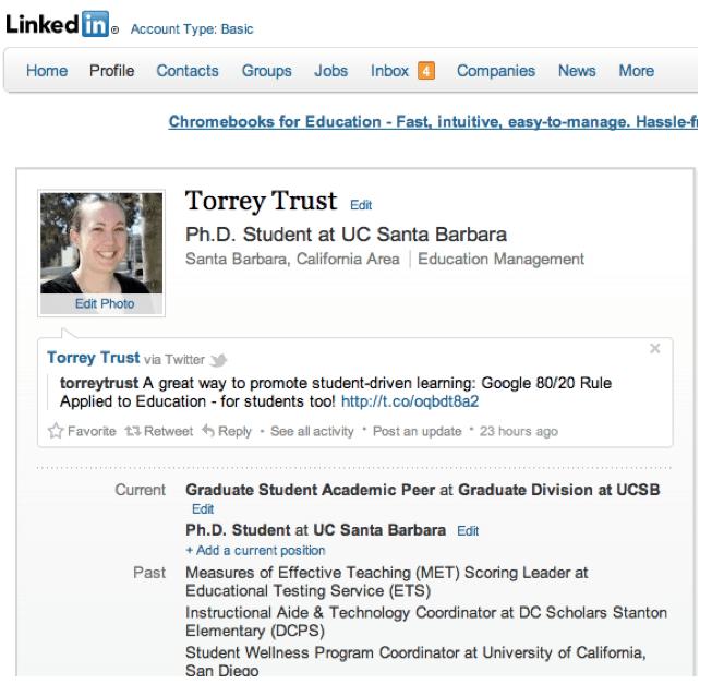 LinkedIn Profile Makeover
